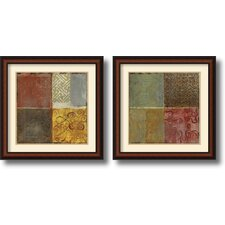 <strong>Amanti Art</strong> Pattern Luck Framed Print by Jennifer Hollack (Set of 2)