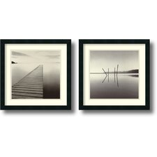 <strong>Amanti Art</strong> Michael Kenna One Framed Print by Michael Kenna (Set of 2)