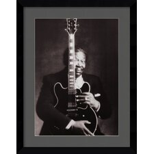 'B.B. King' by Guido Harari Framed Photographic Print