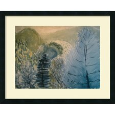 <strong>Amanti Art</strong> River in the Hills Framed Print Wall Art
