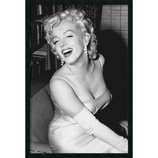 Marilyn Monroe Smiling Framed Photographic Prints