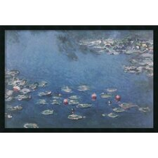 'Waterlillies' by Claude Monet Framed Painting Prints