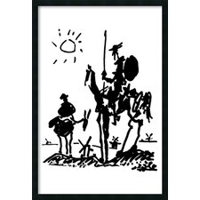 'Don Quixote' by Pablo Picasso Framed Painting Prints