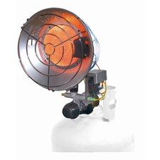 16,000 BTU Radiant Tank Top Single Propane Space Heater