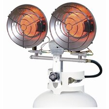 32,000 BTU Radiant Tank Top Dual Propane Space Heater