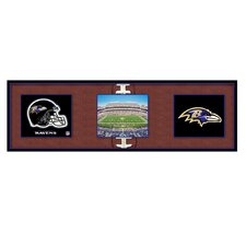 NFL Baltimore Ravens Tripanel Graphic Art on Canvas
