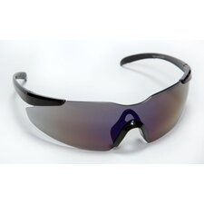 Opticor Safety Glasses Frameless Design with Blue Mirror Scratch Resistant Lens