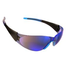 Doberman Safety Glasses with Blue Mirror Lens