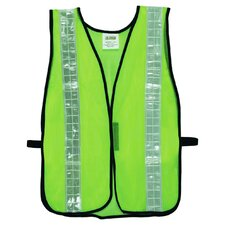 Hi Vis Mesh Safety Vest in Lime Green
