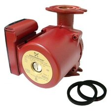 1/6 HP 115 V 3-Speed Bronze Super Brute Circulator Pump