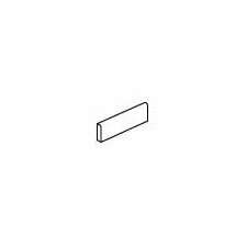 """Carriage House 8"""" x 3"""" Bullnose Tile Trim in Straw"""
