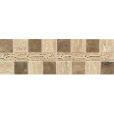 "Carriage House 12"" x 4"" Universal Stone Accent Border"