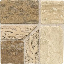 "Carriage House 4"" x 4"" Universal Stone Accent Corner Tile"