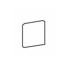 "Costa Rei 6"" x 6"" Surface Bullnose Corner Tile Trim in Terra Marrone"