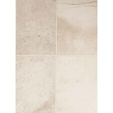 "Costa Rei 14"" x 10"" Glazed Field Tile in Pietra Bianco"