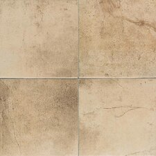 "Costa Rei 18"" x 18"" Glazed Field Tile in Oro Miele"