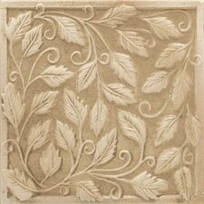 "Vallano 6"" x 6"" Glazed Wall Accent Tile in Macadamia"