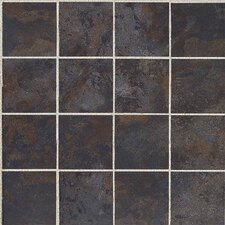 """Amber Valley 3"""" x 3"""" Glazed Porcelain Mosaic Tile in River Moss"""