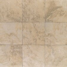 "Amber Valley 20"" x 20"" Glazed Porcelain Floor Tile in Millstone Beige"