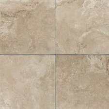 "Pozzalo 18"" x 18"" Glazed Field Tile in Coastal Beige"