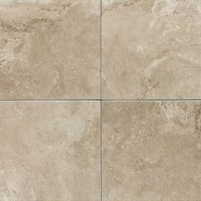 "Pozzalo 12"" x 12"" Glazed Field Tile in Coastal Beige"