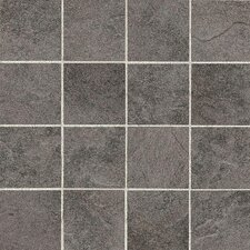 "Shadow Bay 3"" x 3"" Colorbody Porcelain Unpolished Mosaic in Rocky Shore"
