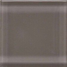 "Legacy Glass 4-1/4"" x 4-1/4"" Glazed Field Tile in Orchid"