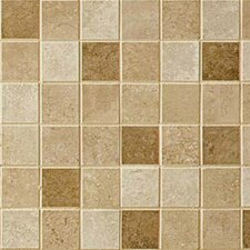 Pozzalo Universal Ceramic Glazed Mosaic in Brown