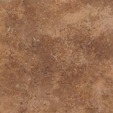 "Vallano 18"" x 18"" Glazed Field Tile in Caramel"
