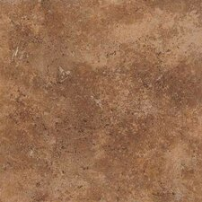 "Vallano 11-13/16"" x 11-13/16"" Glazed Field Tile in Caramel"