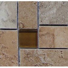 "Lucerne 4"" x 4"" Floor Listello Corner in Multicolor"
