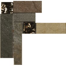 "<strong>Emser Tile</strong> Bombay 3"" x 3"" Floor Listello Corner in Multicolor"
