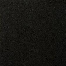 "Natural Stone 12"" x 12"" Granite Tile in Absolute Black"