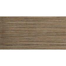 "Strands 12"" x 24"" Porcelain Floor Tile in Chestnut"
