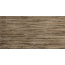 "Strands 12"" x 24"" Porcelain Floor Tile in Chestnut"