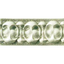 "<strong>Emser Tile</strong> Cape Cod 9"" x 4"" Dawn Accent Tile in Willow Green Crackle"