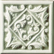 "<strong>Emser Tile</strong> Cape Cod 6"" x 6"" Seashore Accent Tile in Willow Green Crackle"