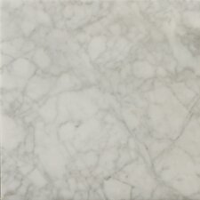 "<strong>Emser Tile</strong> Natural Stone 12"" x 12"" Honed Marble Field Tile in Bianco Gioia"
