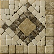 "<strong>Emser Tile</strong> Natural Stone 4"" x 4"" Honed Marble Scultura Listello Corner"