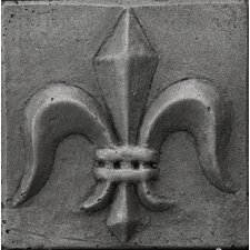 "<strong>Emser Tile</strong> Renaissance 2"" x 2"" Corsica Insert Tile in Antique Nickel"