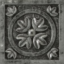 "<strong>Emser Tile</strong> Camelot 2"" x 2"" Guinevere Dot in Silver"