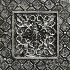 "<strong>Emser Tile</strong> Camelot 2"" x 2"" Igraine Dot in Silver"