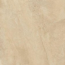"Napa 18"" x 18"" Matte Porcelain Floor Tile in Avorio"