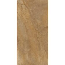 "Napa 24"" x 12"" Matte Porcelain Floor Tile in Bruno"