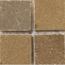 "Pamplona 2"" x 2"" Floor Listello Corner in Brown"