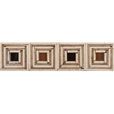 "<strong>Emser Tile</strong> Natural Stone 12"" x 3"" Foggia Travertine Listello"