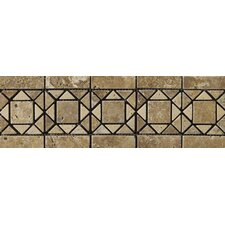 "<strong>Emser Tile</strong> Natural Stone 12"" x 4"" Linares Travertine Listello"