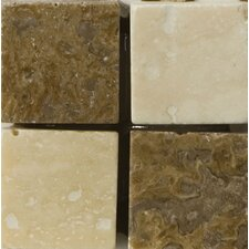 "Natural Stone 2"" x 2"" Verdi Travertine Listello Corner"
