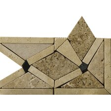 "4"" x 4"" Arctic Travertine Listello Corner"