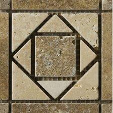 "Natural Stone 4"" x 4"" Osorno Travertine Listello Corner"